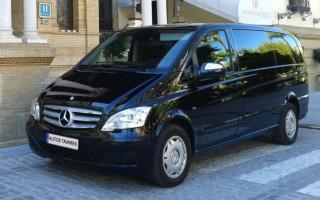 Minivan Mercedes Viano / 8 Plazas incluido el conductor